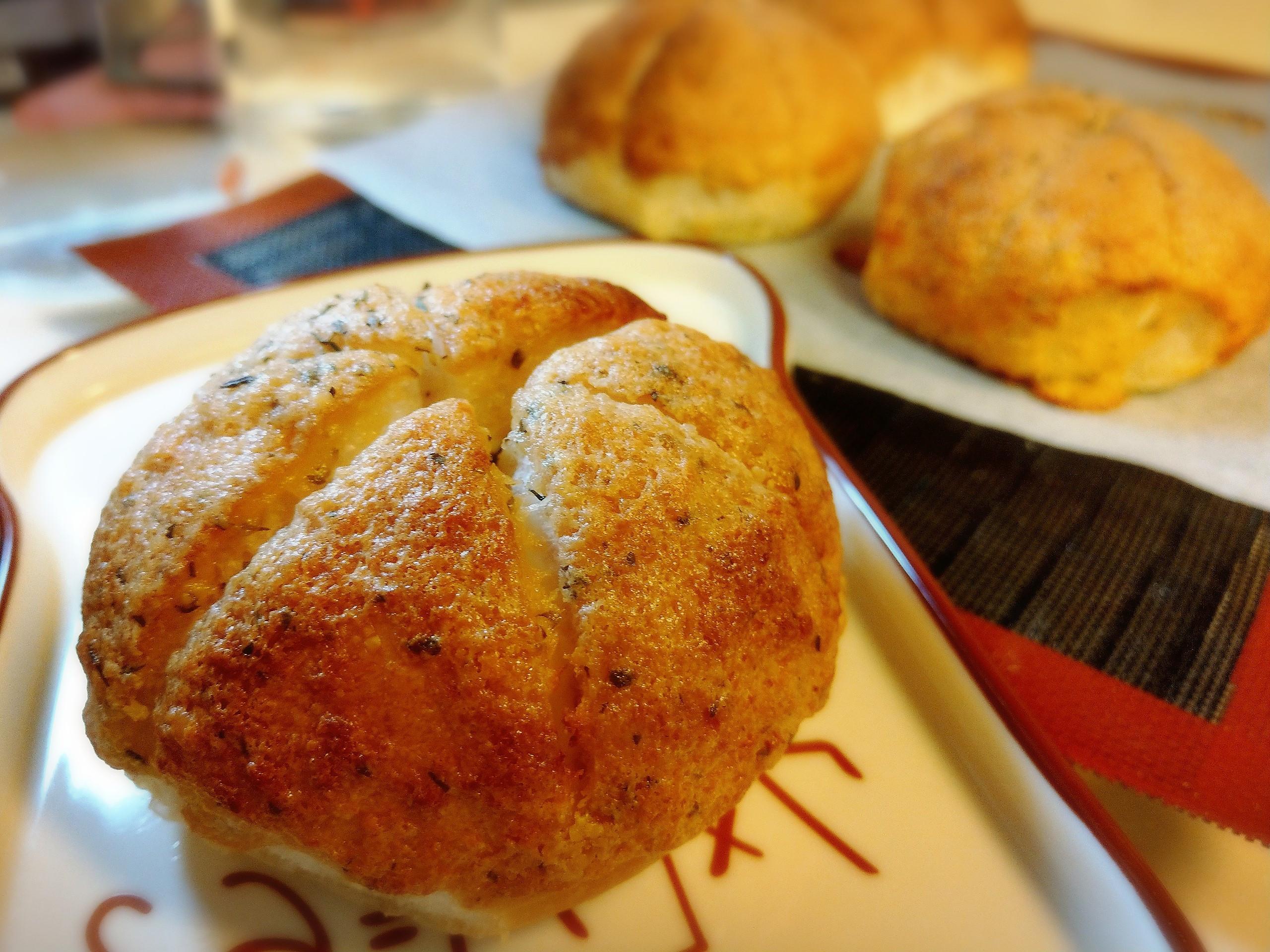 韓國爆漿香蒜奶油麵包