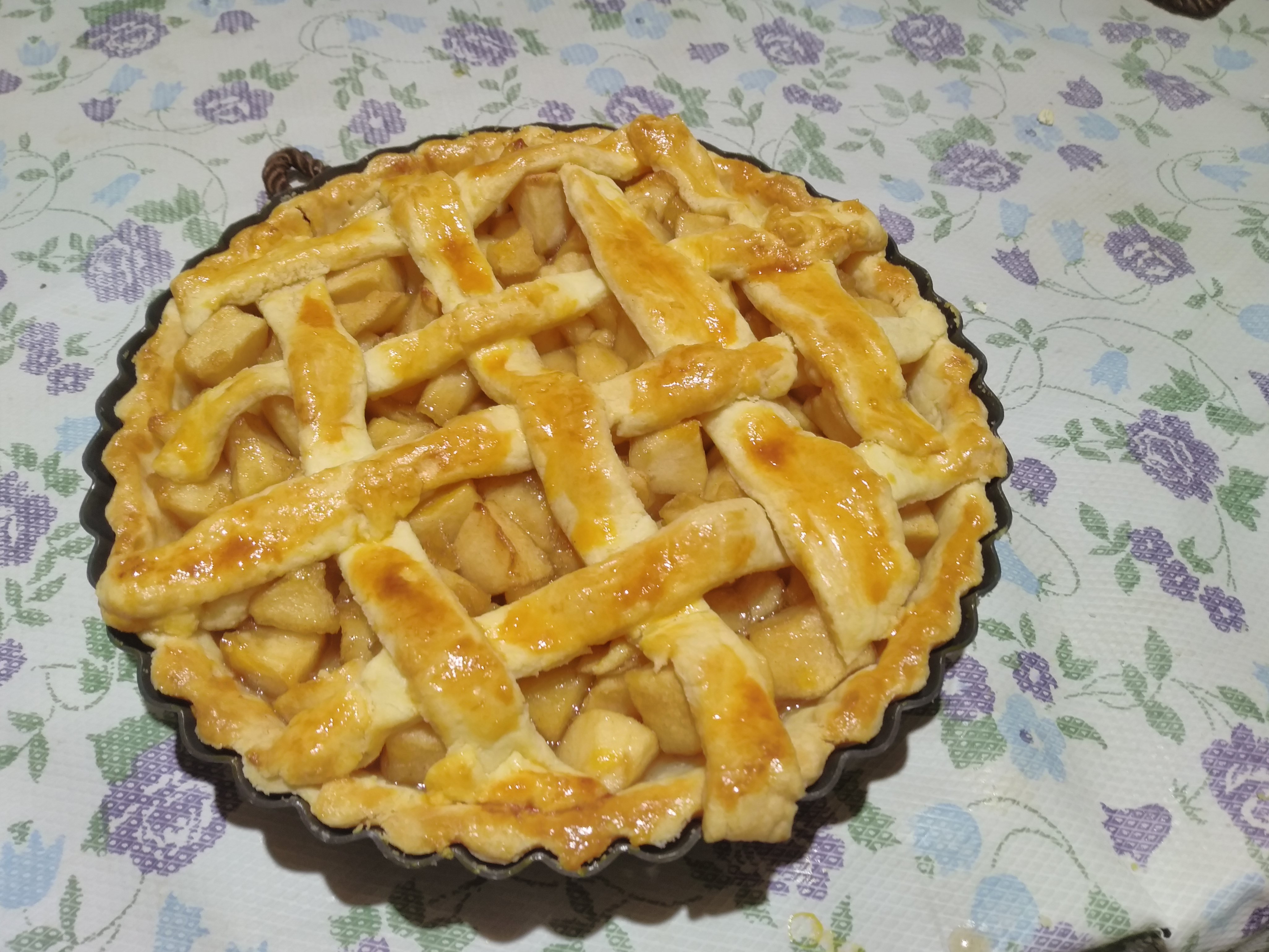 八寸——美式肉桂蘋果派(。'▽'。)♡