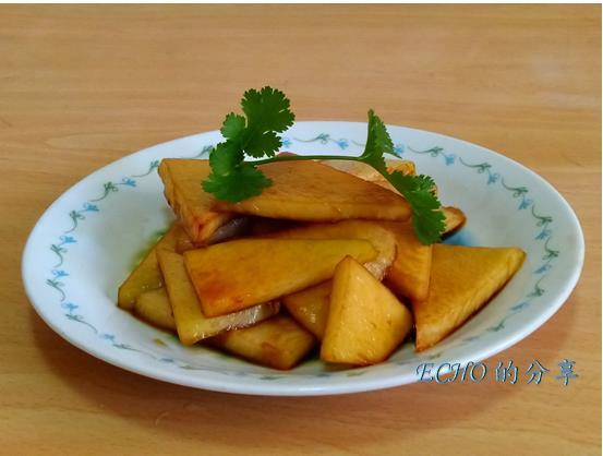 簡單不敗料理-涼拌醬香大頭菜(結頭菜)