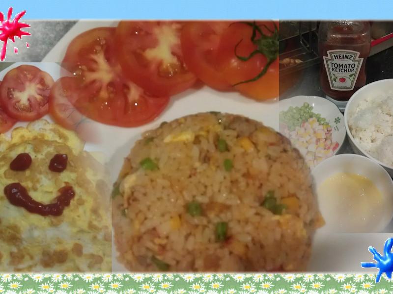 品靚上菜-【亨氏番茄醬100%純天然】蕃茄蛋包飯