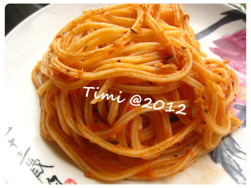蕃茄鮪魚意大利麵