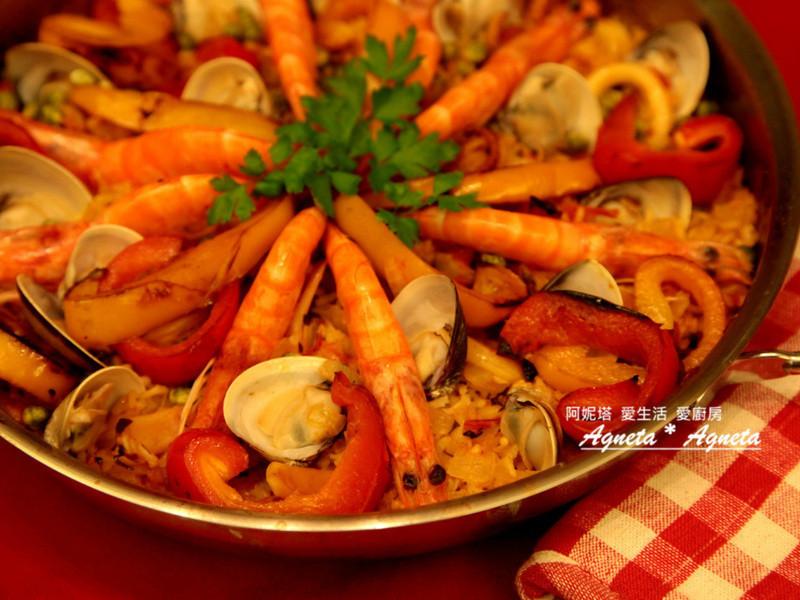 [阿妮塔♥yummy] 澎派西班牙海鮮飯。Seafood Paella。