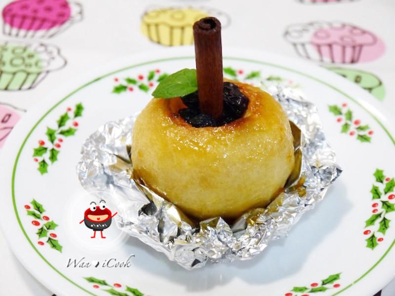 "♡宛の烘培好""食""光 ✿ 耶誕點心 ♥ 烤蘋果"