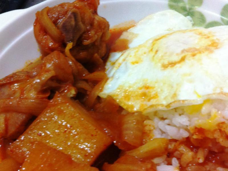 超簡單美味韓式辣雞飯!