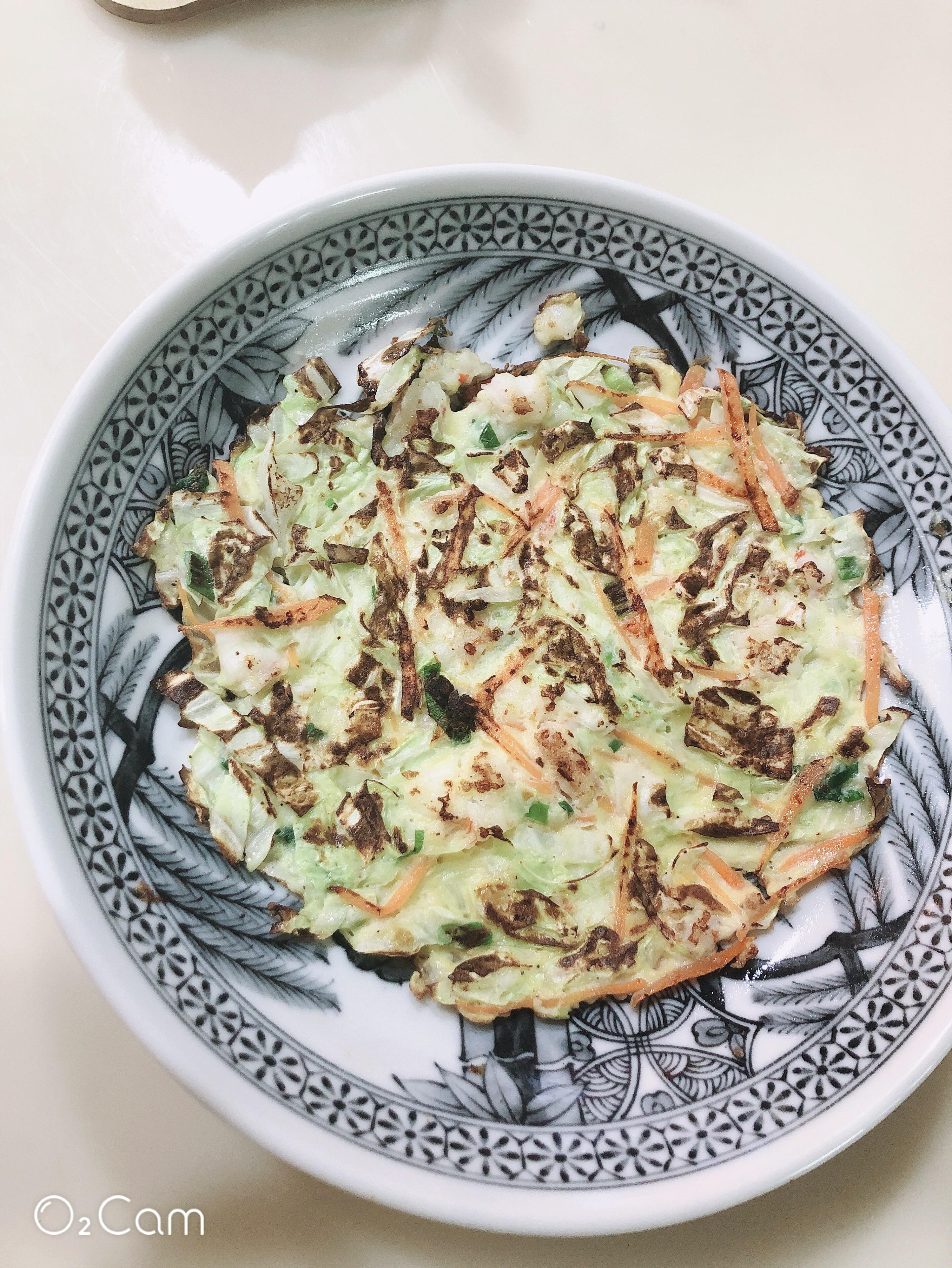 鮮蝦蔬菜煎餅