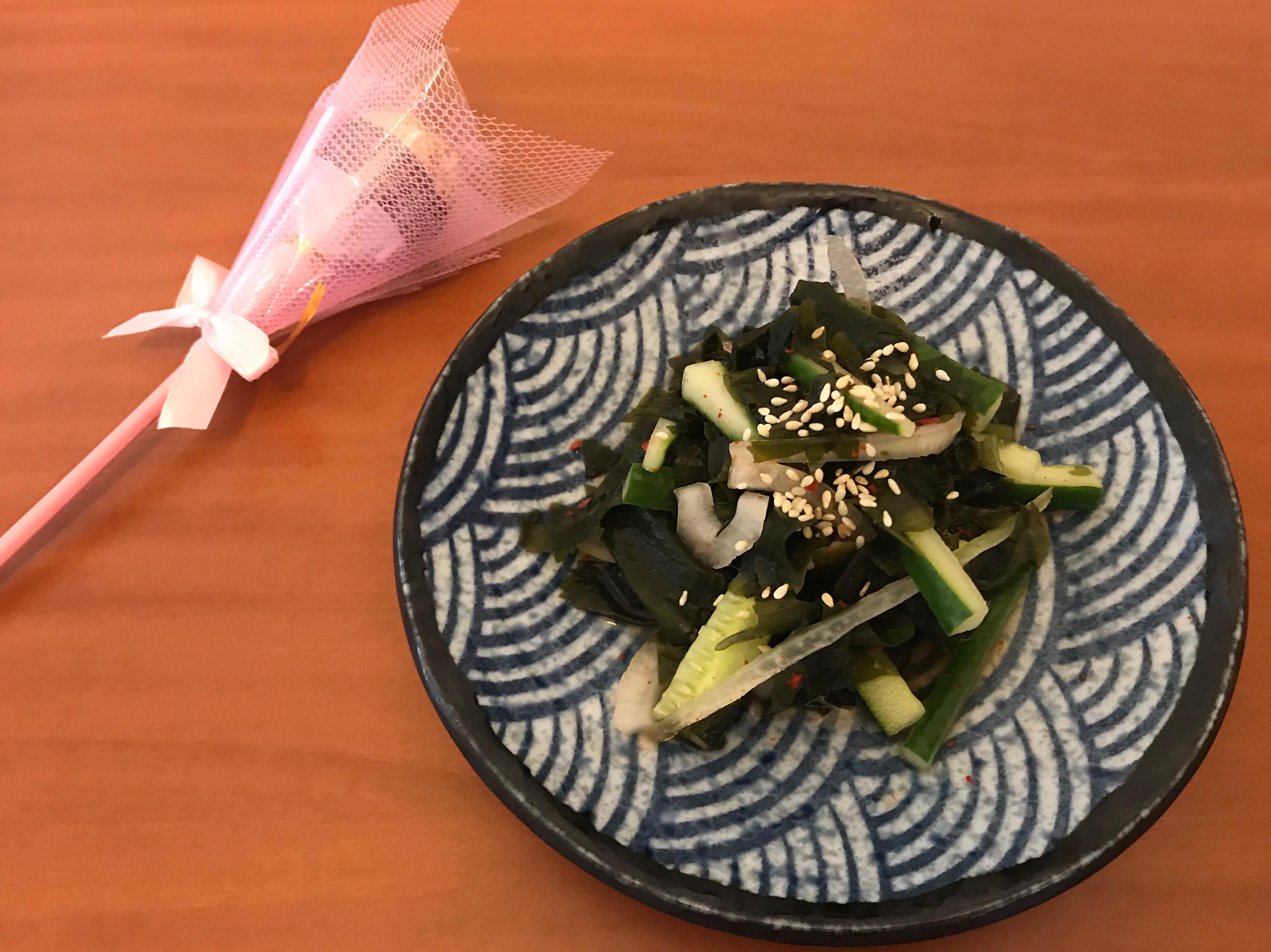 韓式 涼拌海帶芽