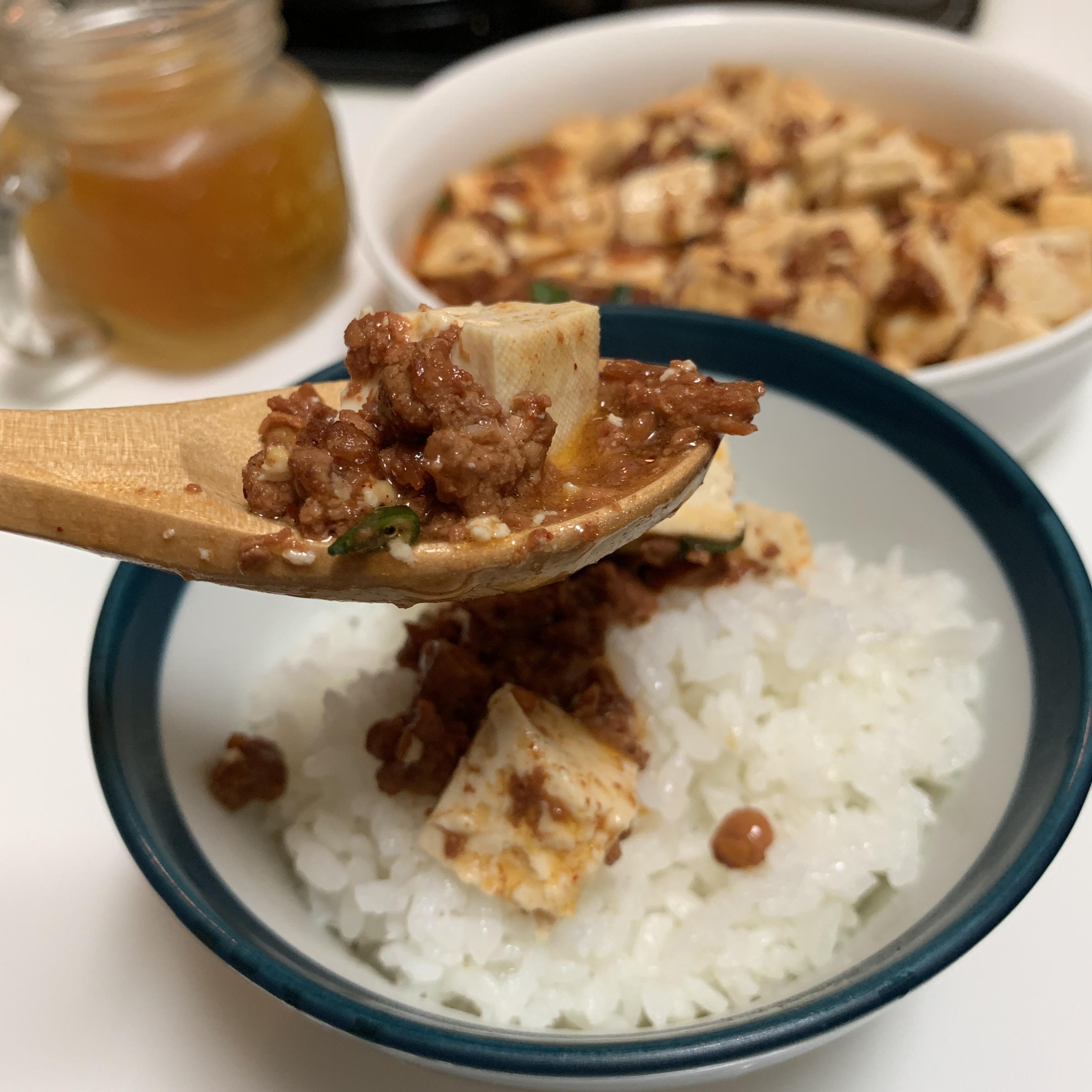 肉醬麻婆豆腐
