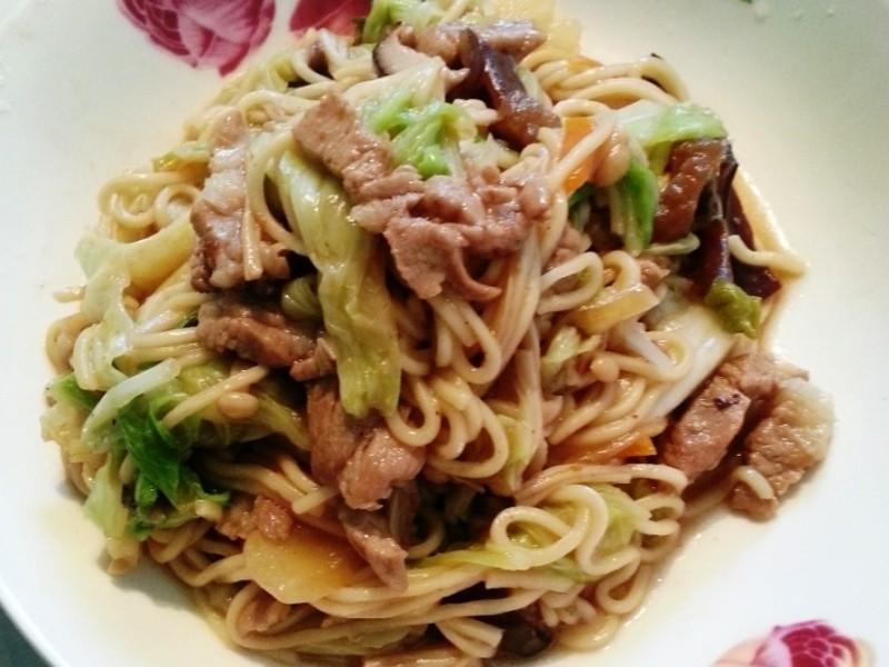 梅狀元陳醋老梅膏料理 - 梅香炒麵