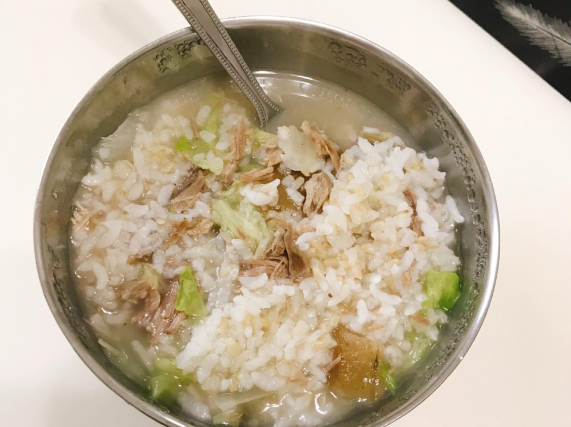 梅乾菜鴨肉鹹粥
