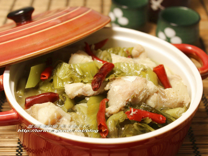 白飯殺手之川味酸菜魚