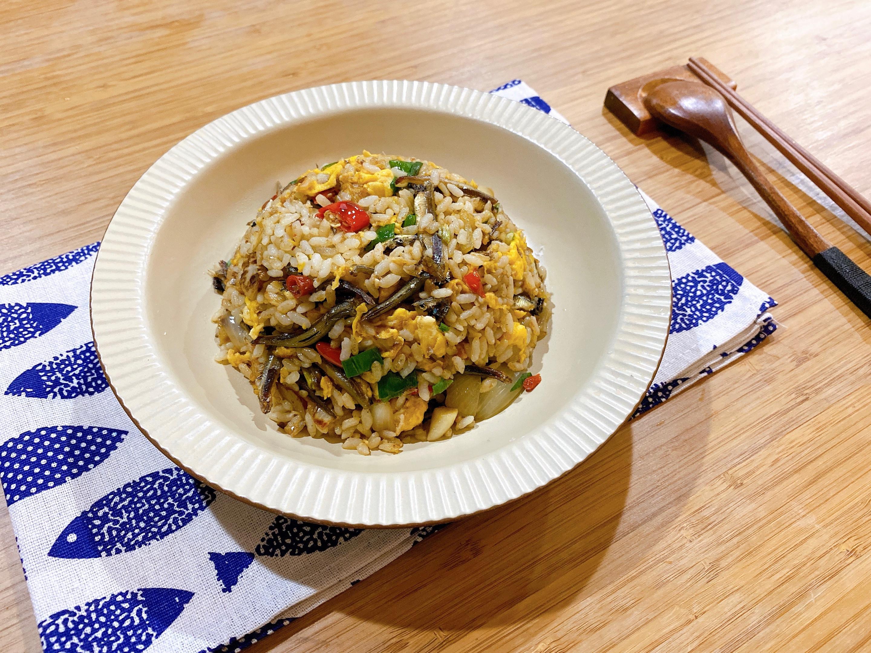 [澎湖料理]小魚乾干貝醬炒飯