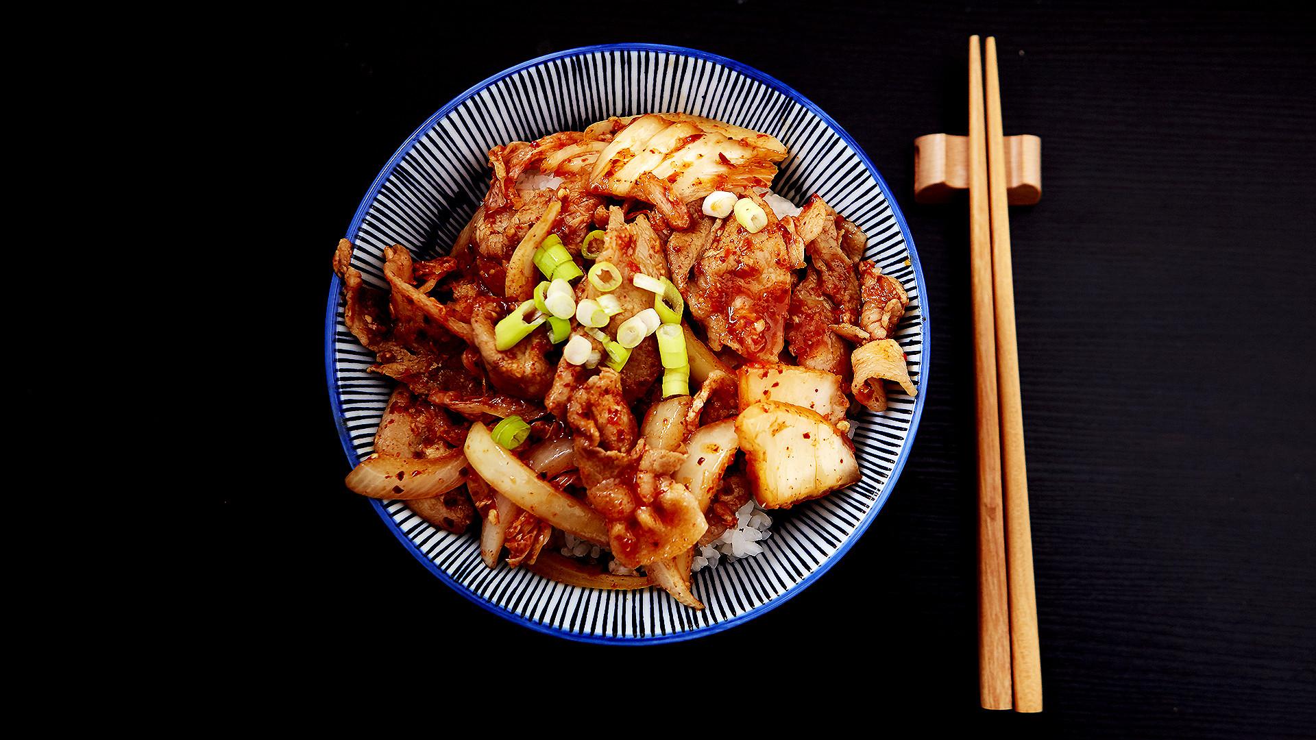 食煮#23 泡菜豬肉丼
