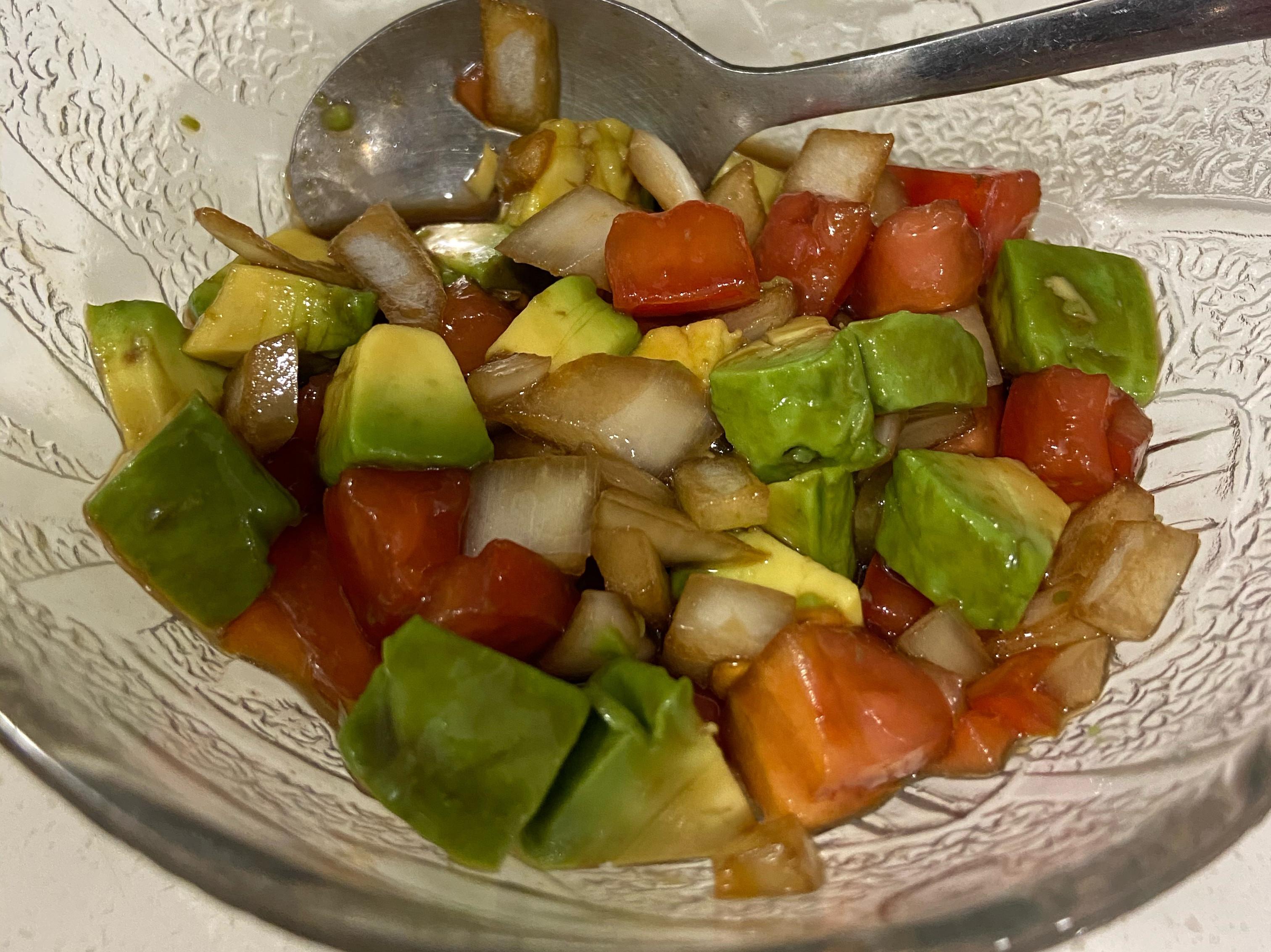 義式油醋蕃茄丁
