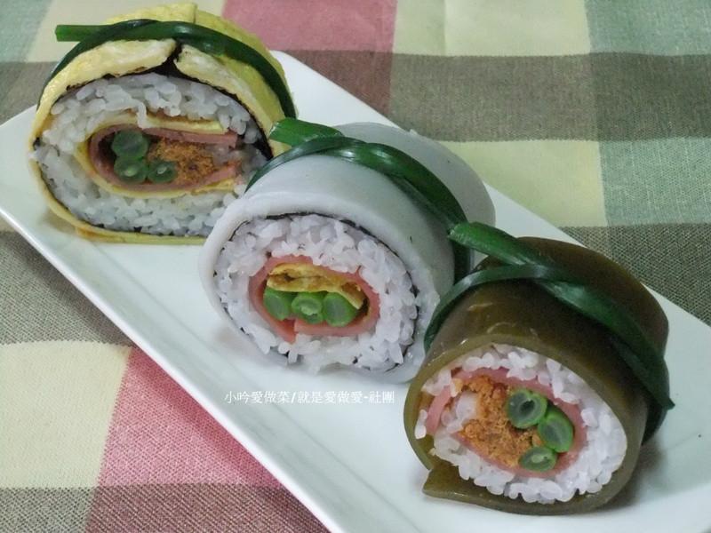 【大賀米好料理】三色如意香米捲