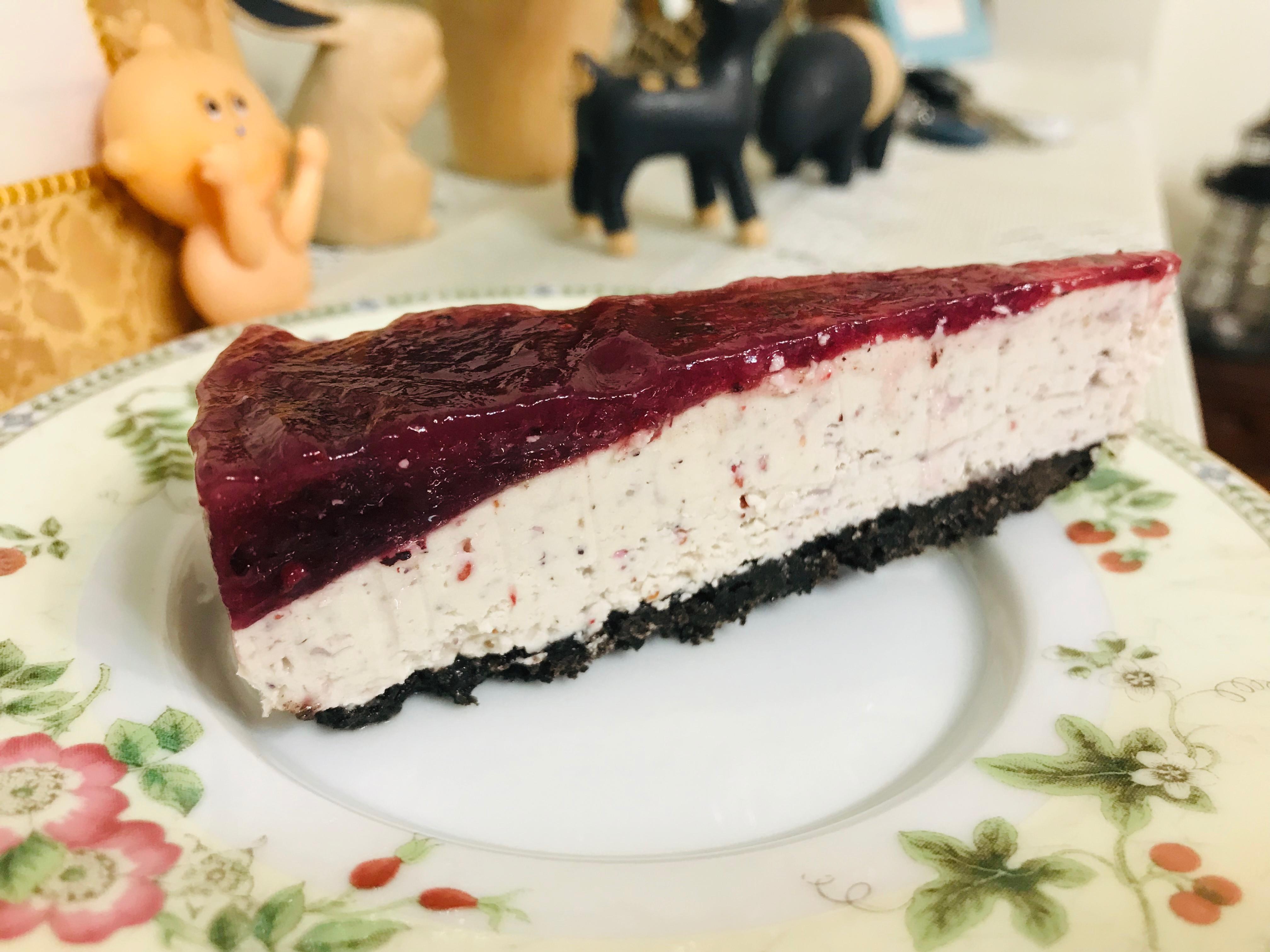免烤甜點:Oreo有機藍莓起司蛋糕