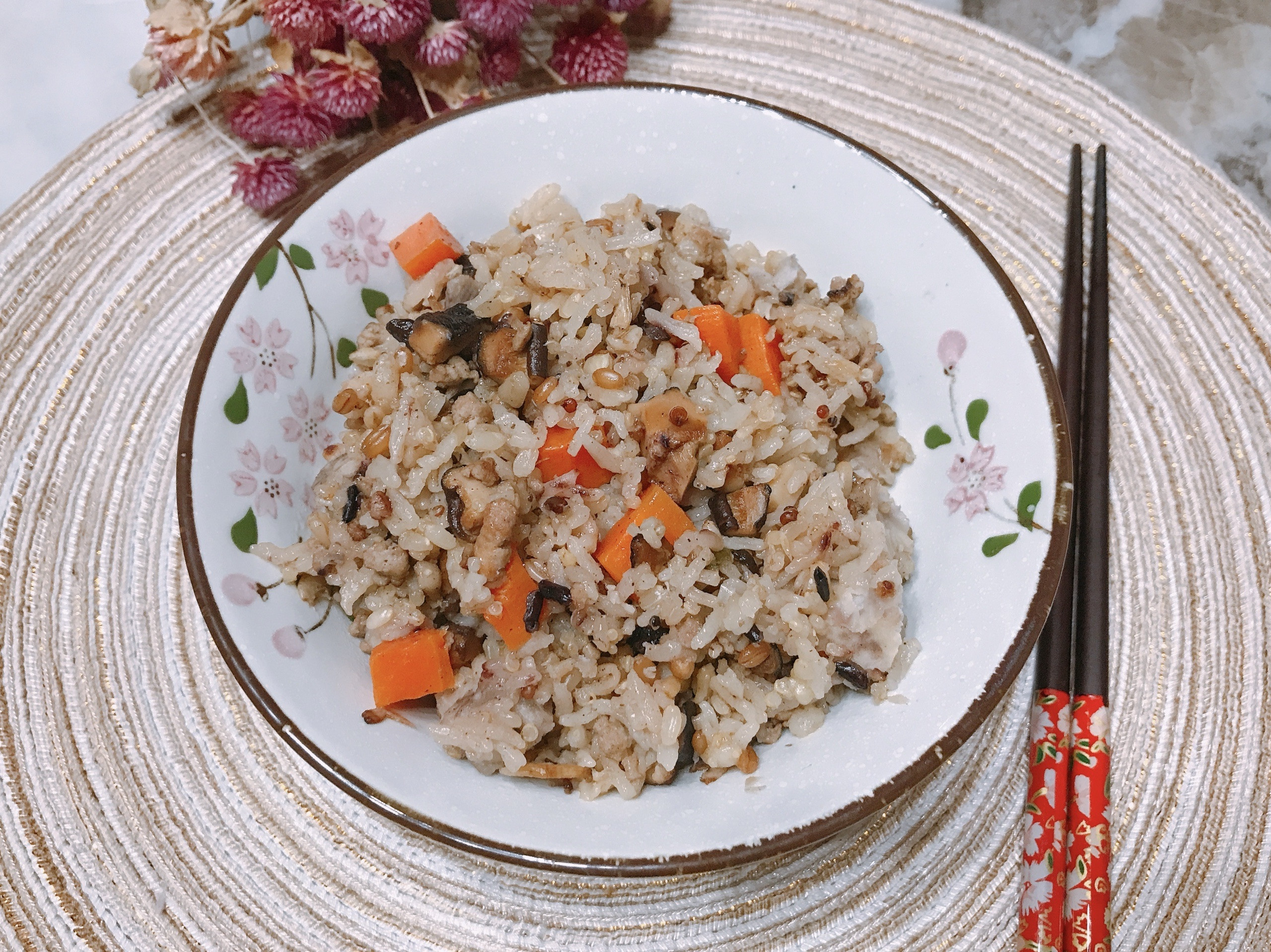 芋頭五穀米鹹飯