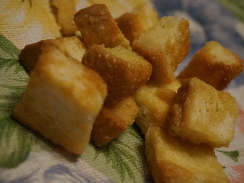 蜂蜜麵包丁
