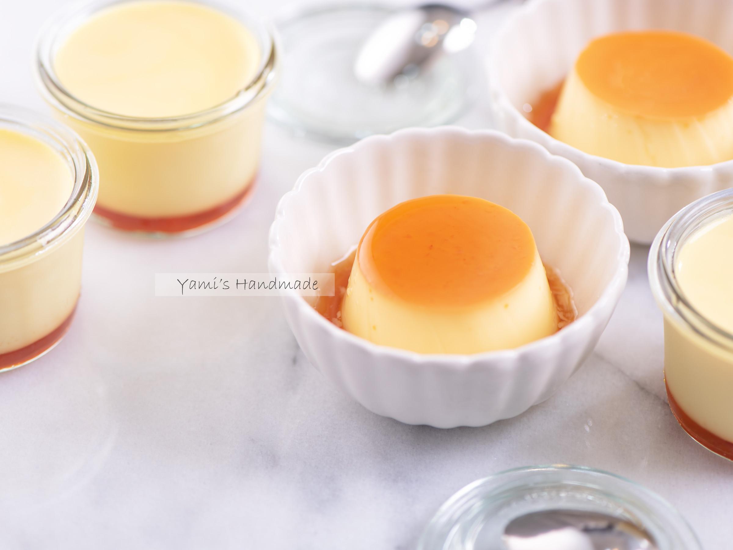 焦糖雞蛋布丁【烤箱/電鍋-兩種做法】