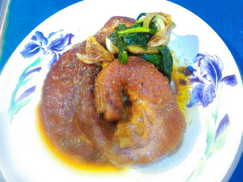 醃老半天鹹豬肉【生食】