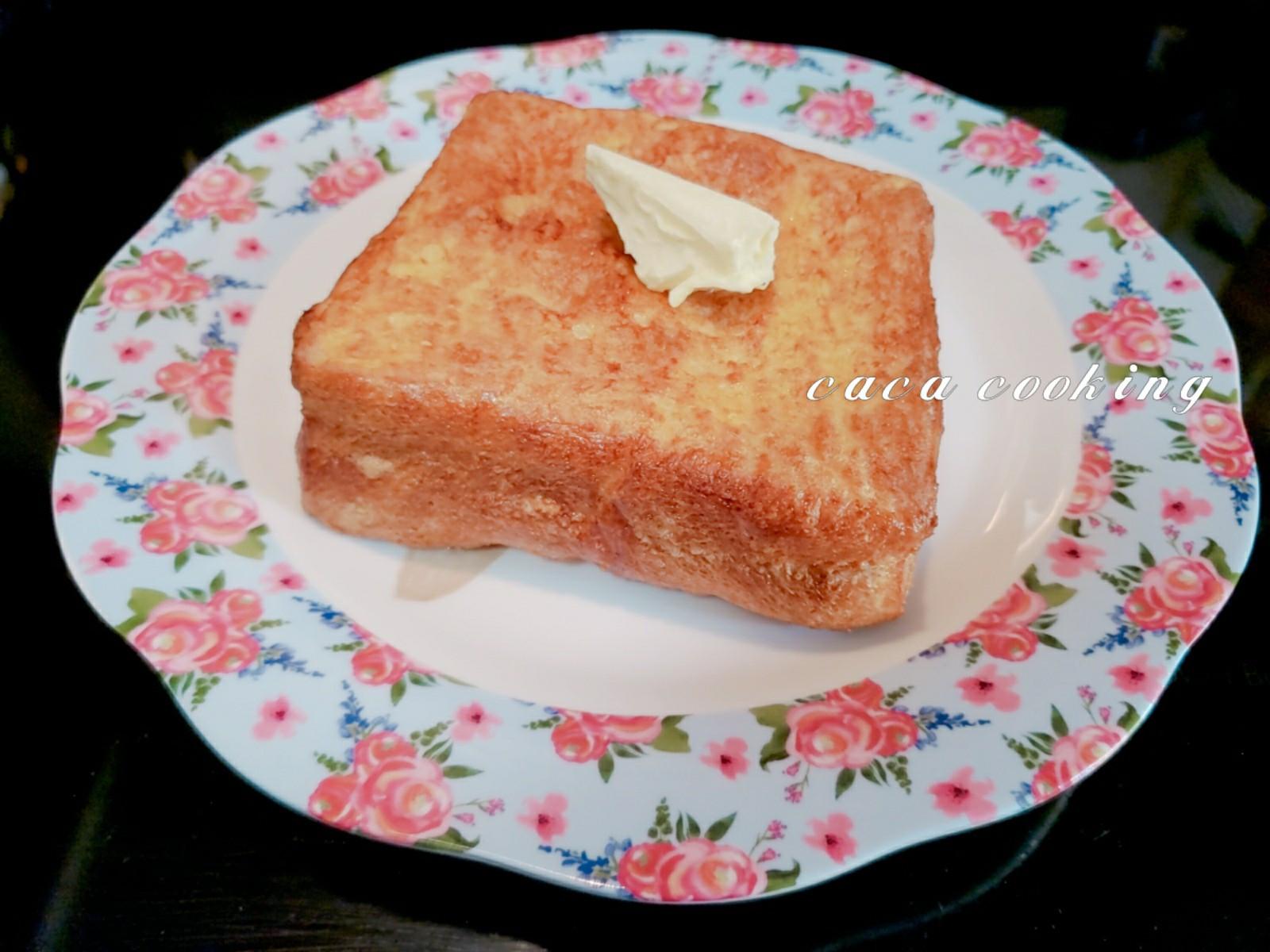 花生醬厚片多士(氣炸鍋)