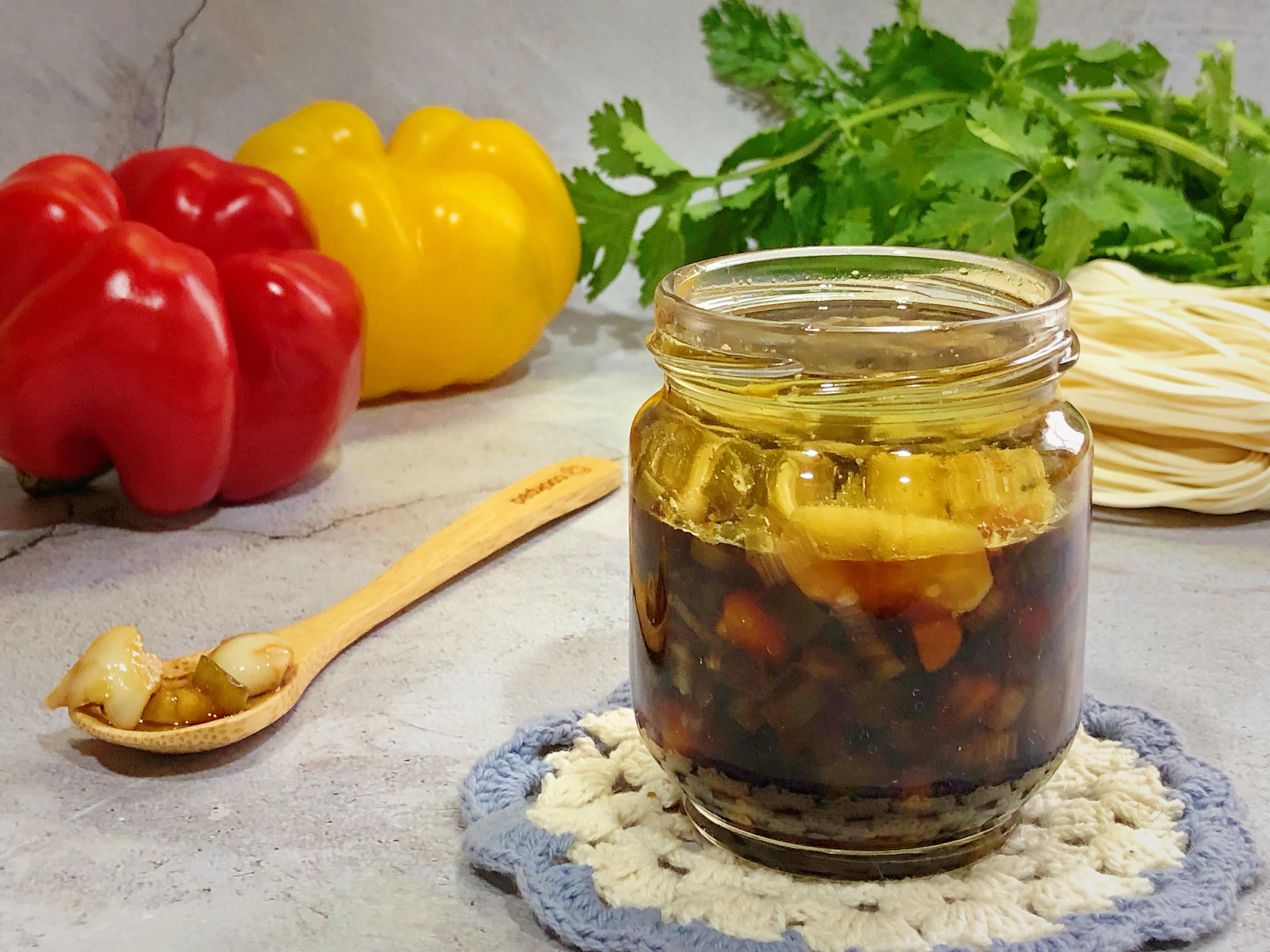 蔥蒜油醋醬