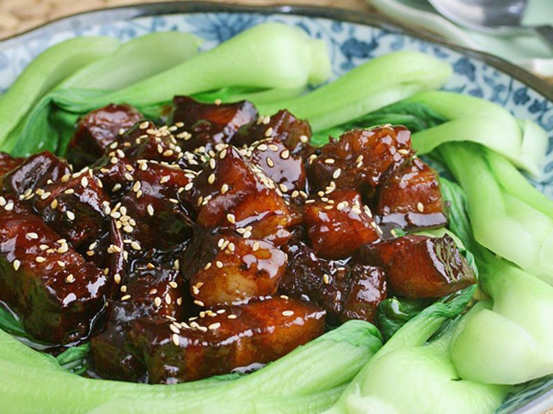 《好菜網》蘋果甜豆瓣燒肉