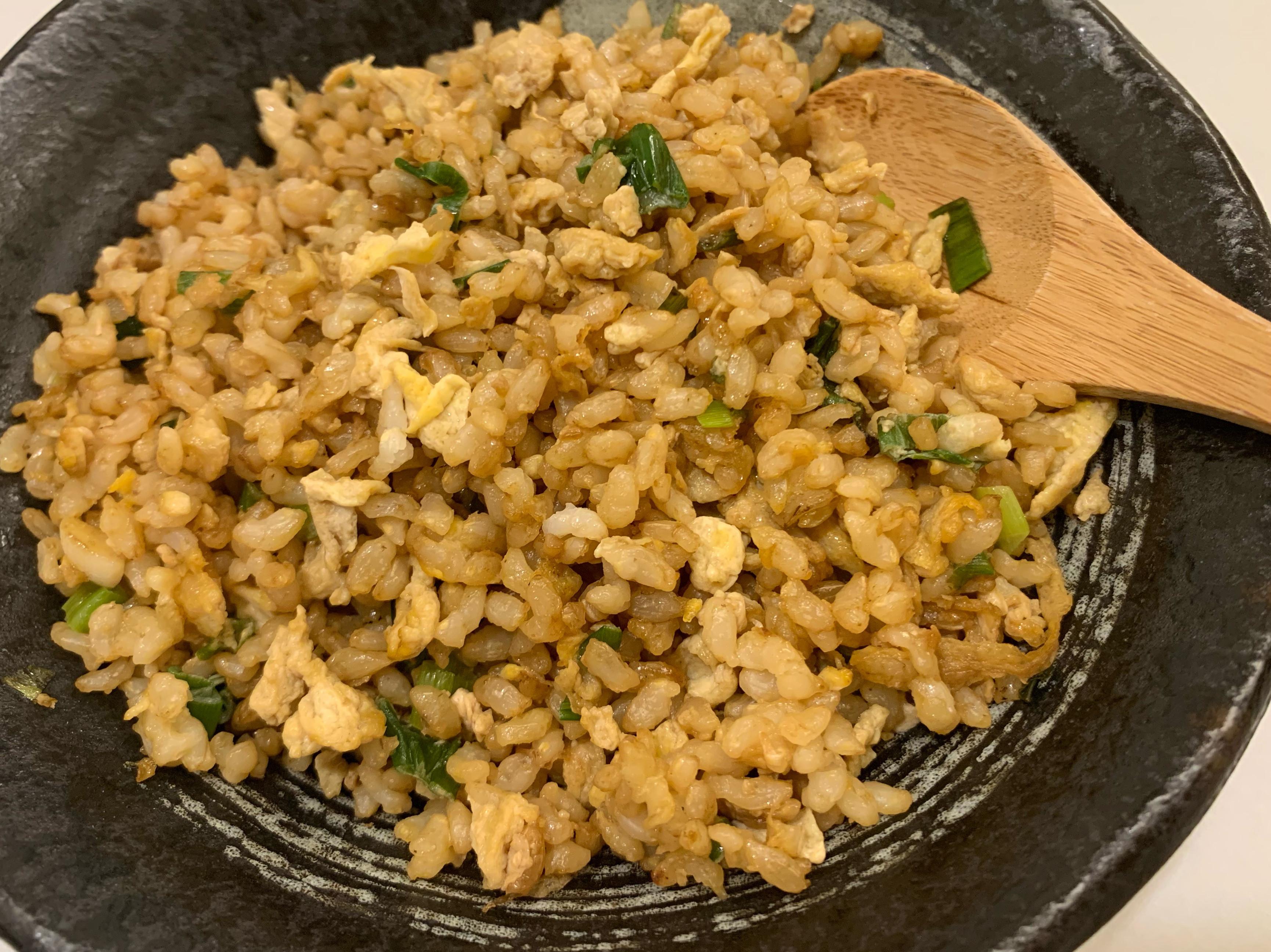 粒粒分明-糙米蛋炒飯