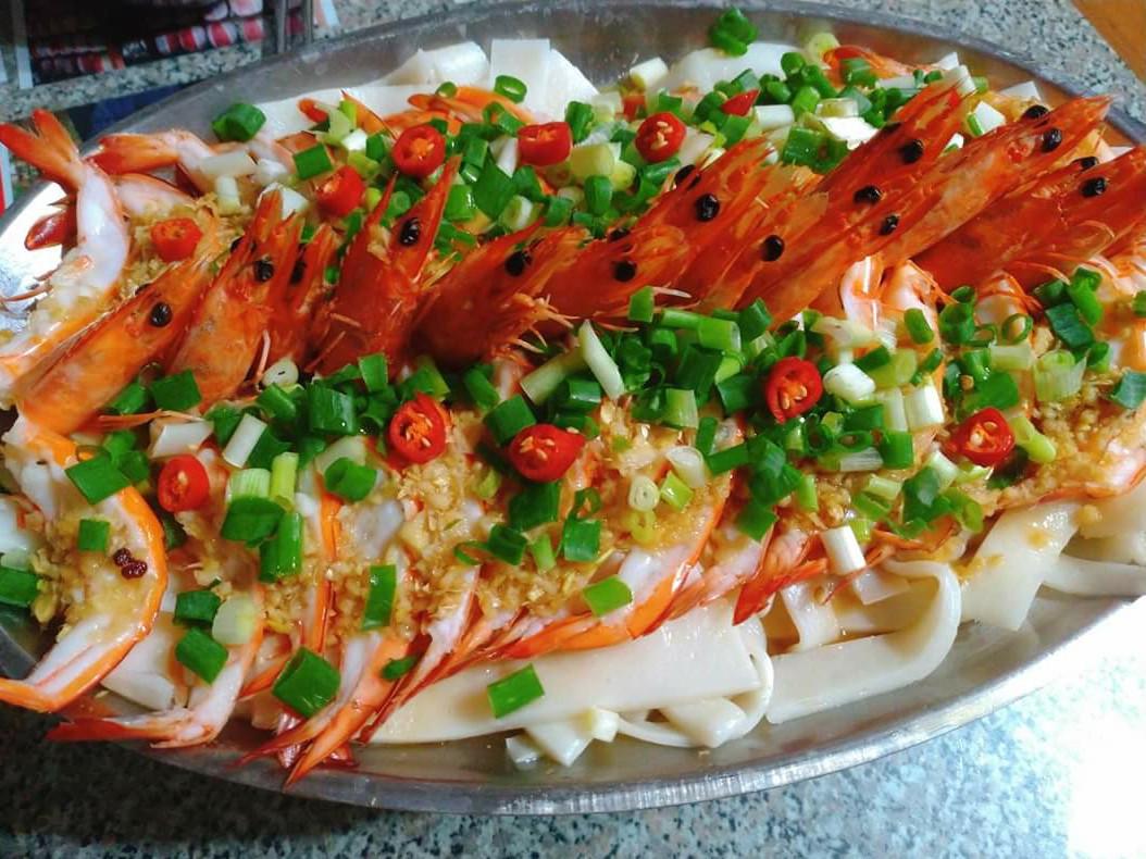 忘憂草手作宴客菜 ♥️蒜茸蒸蝦♥️