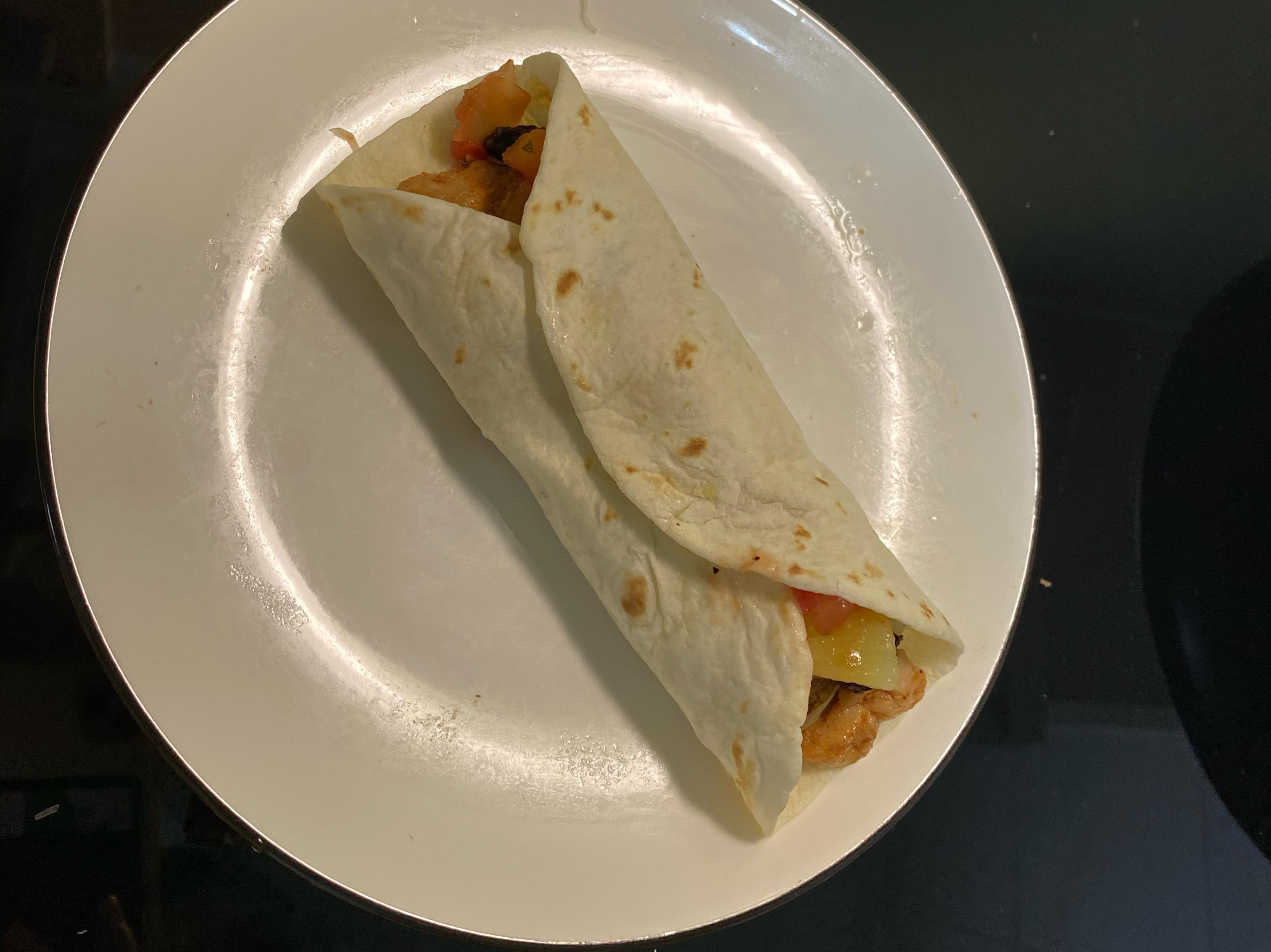Costco 墨西哥雞肉塔可捲餅-太好吃