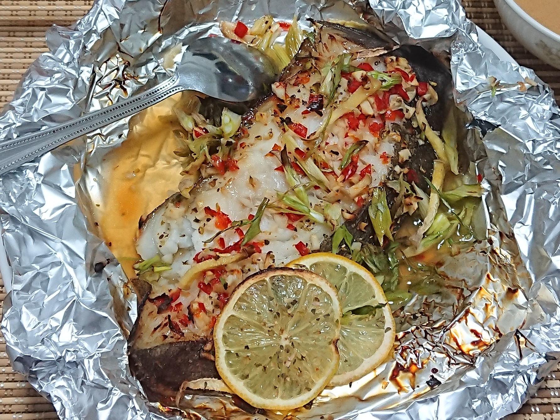 氣炸鍋料理《泰式檸檬魚》
