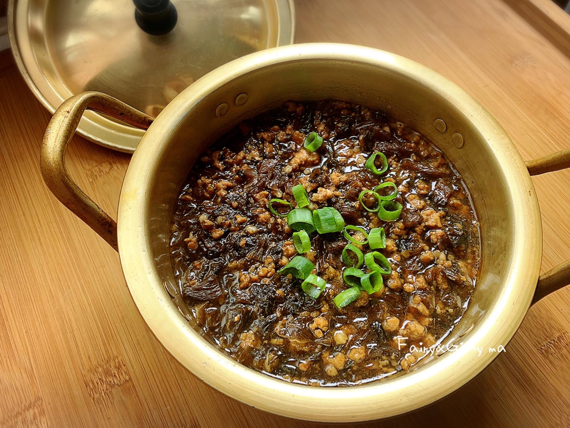 超下飯的梅乾菜肉燥(便當菜)