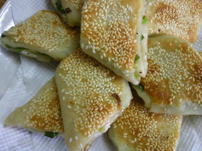 芝麻蔥燒餅