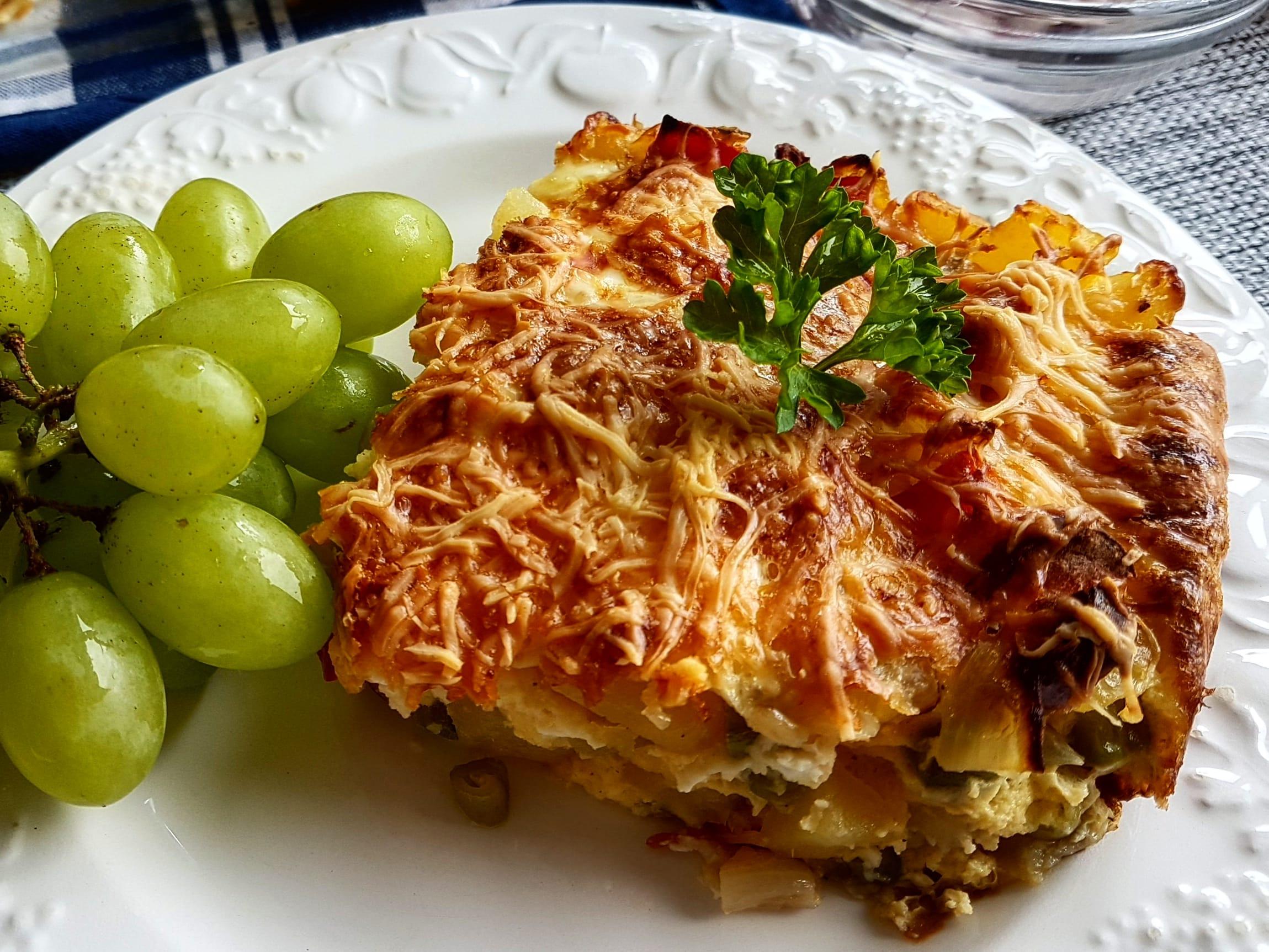 西班牙馬鈴薯烘蛋(蛋奶素)