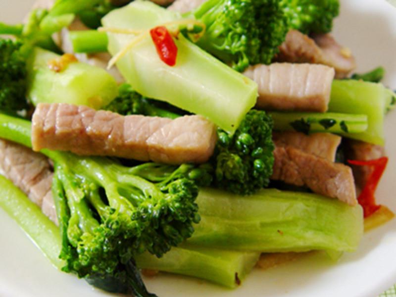【厚生廚房】青花筍炒肉絲