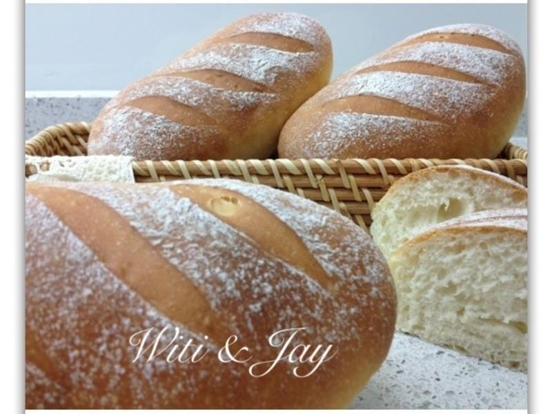 [Witi✿Kitchen](麵包機-麵包)星野酵母麵包