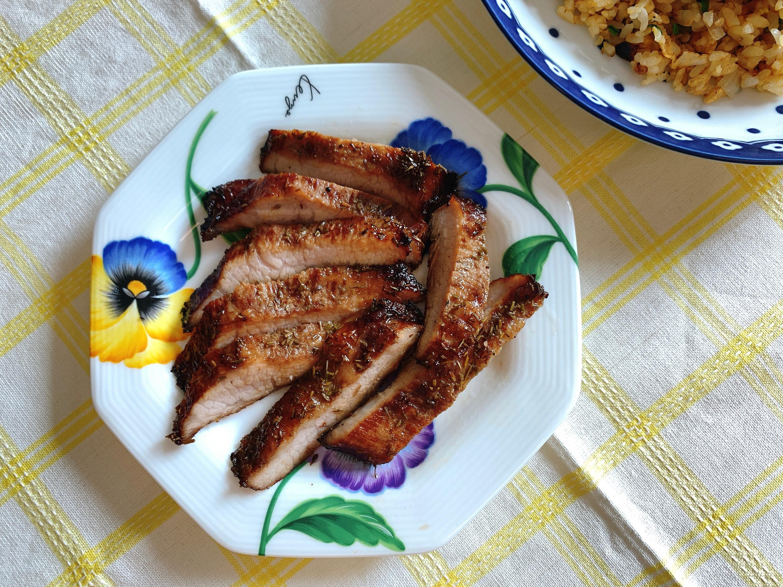 烤香料松阪豬
