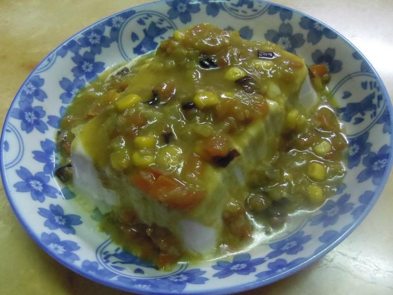 《穀盛綠咖哩》鮮蔬番茄綠咖哩豆腐