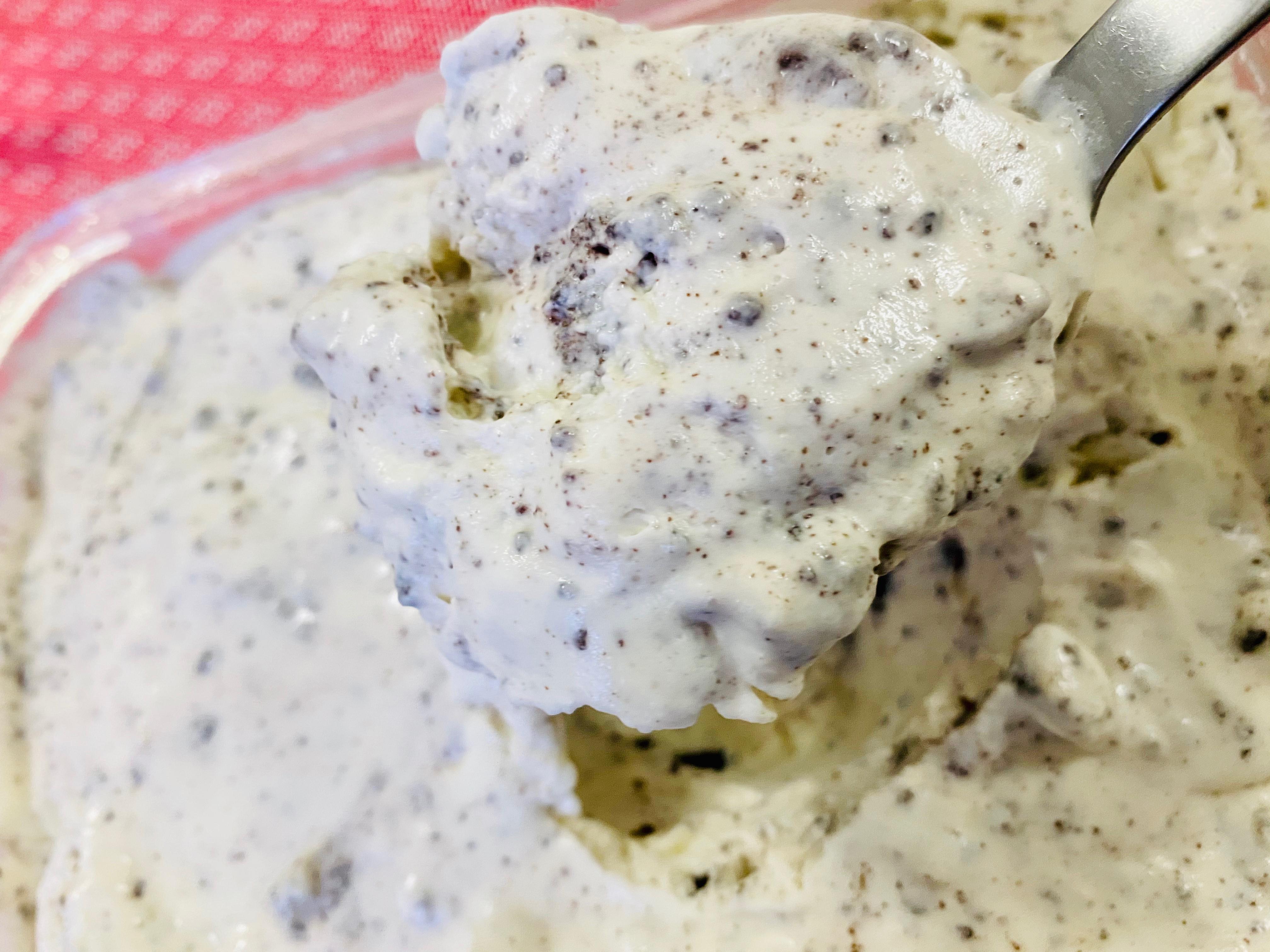 3種材料-Oreo冰淇淋(減糖)