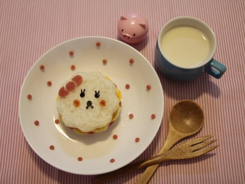 Kitty喵-拉拉火腿蛋吐司