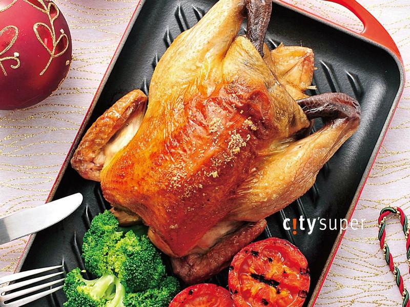 【金采食光聖誕Party!】黃金聖誕烤雞