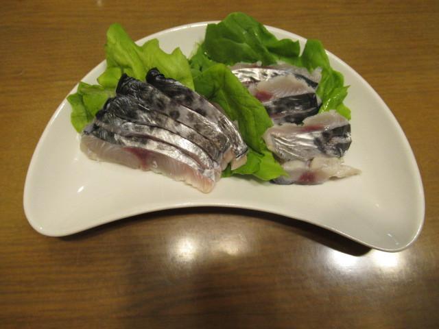 日式醋醃生魚片(生壽司 kizusi)