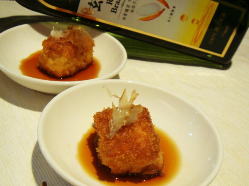 [黃金玄米HOME炸料理]揚出豆腐