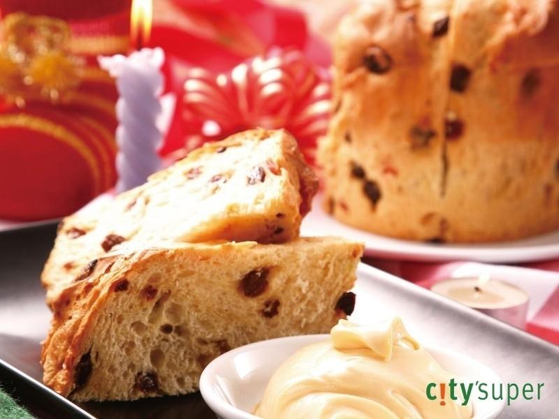 【金采食光聖誕Party!】聖誕麵包與瑪斯卡邦乳酪抹醬