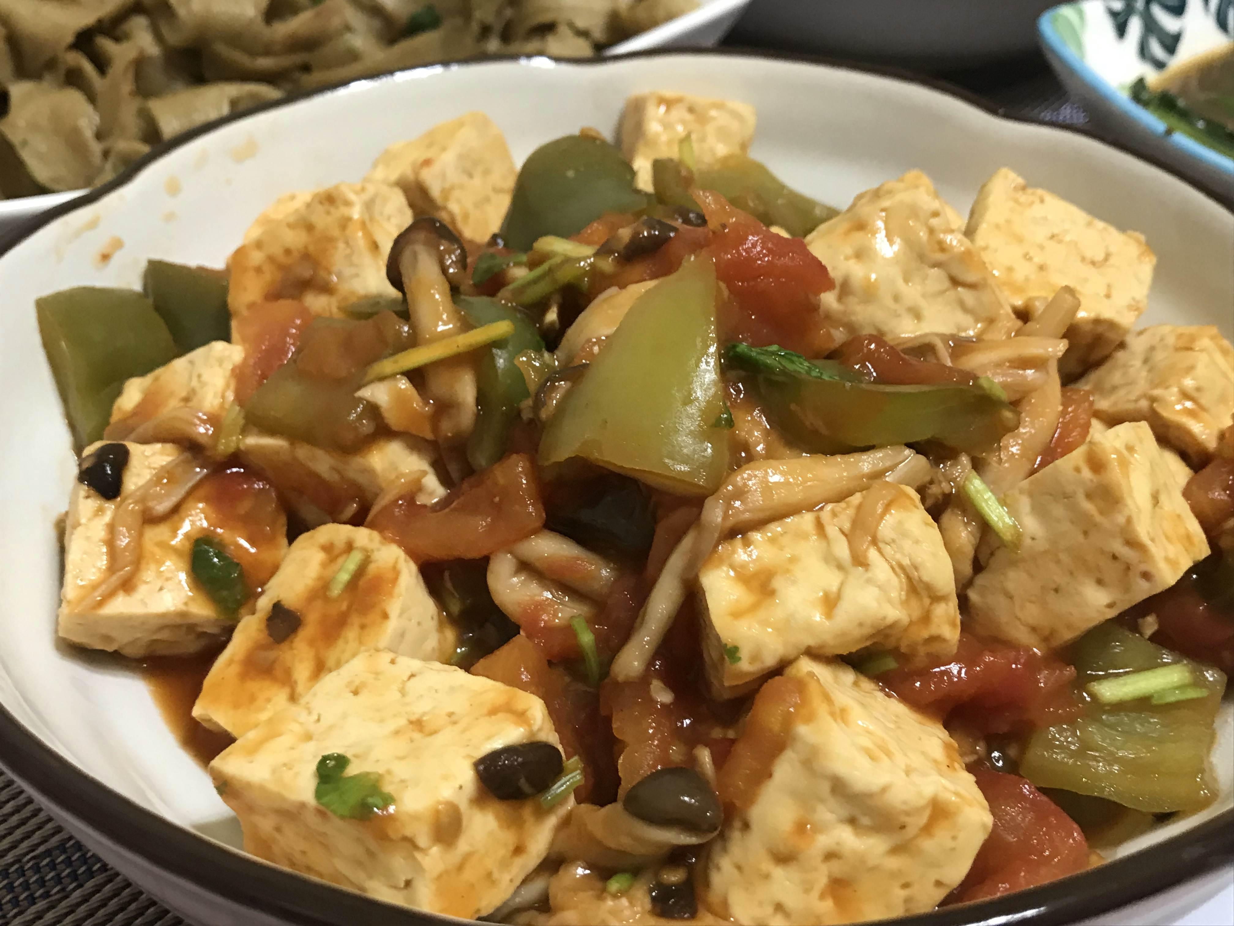 茄汁臭豆腐(全素)