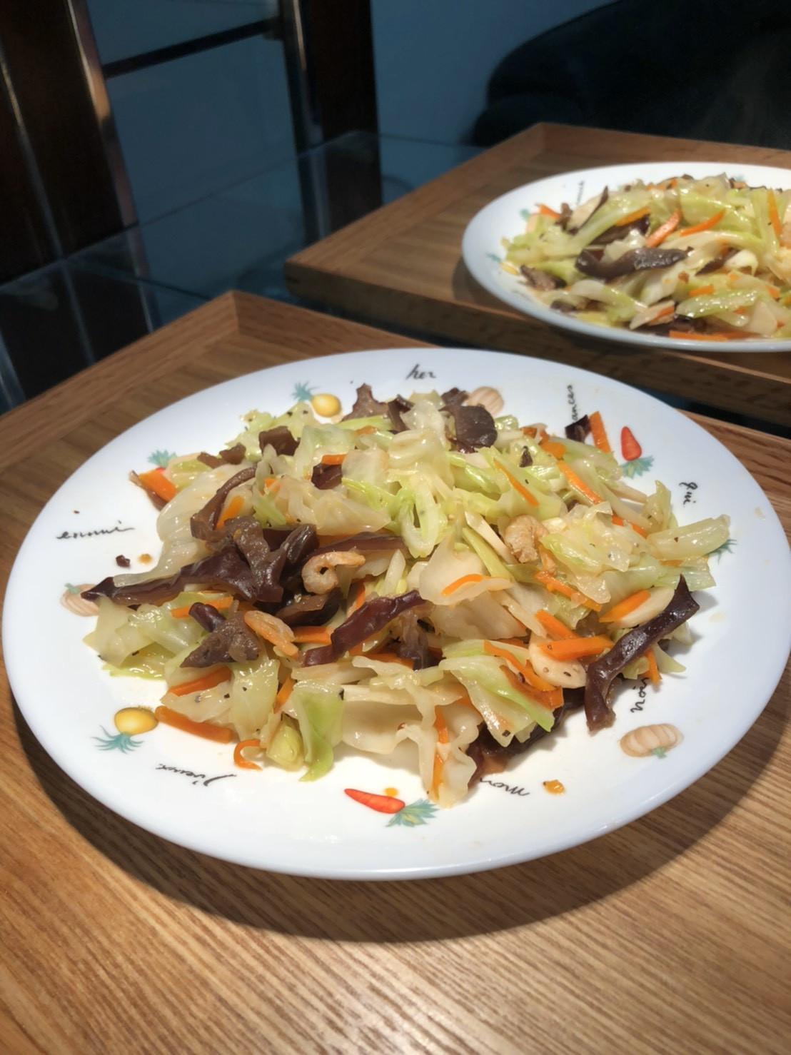 蝦米炒高麗菜