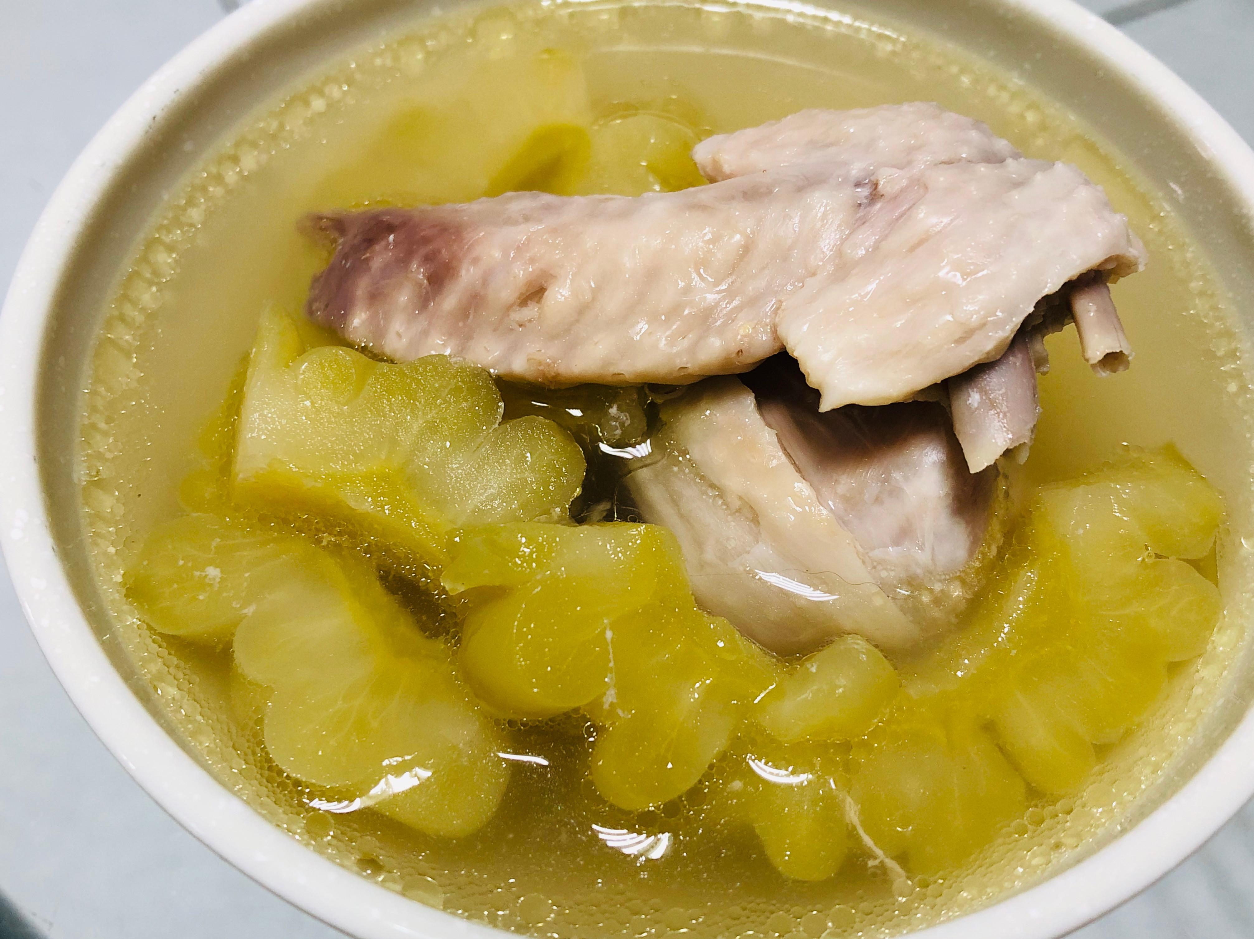 苦瓜菜脯雞湯/一鍵電鍋料理