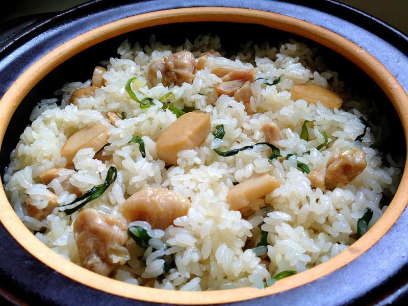 【大賀米好料理】蔥香麻油雞燉飯