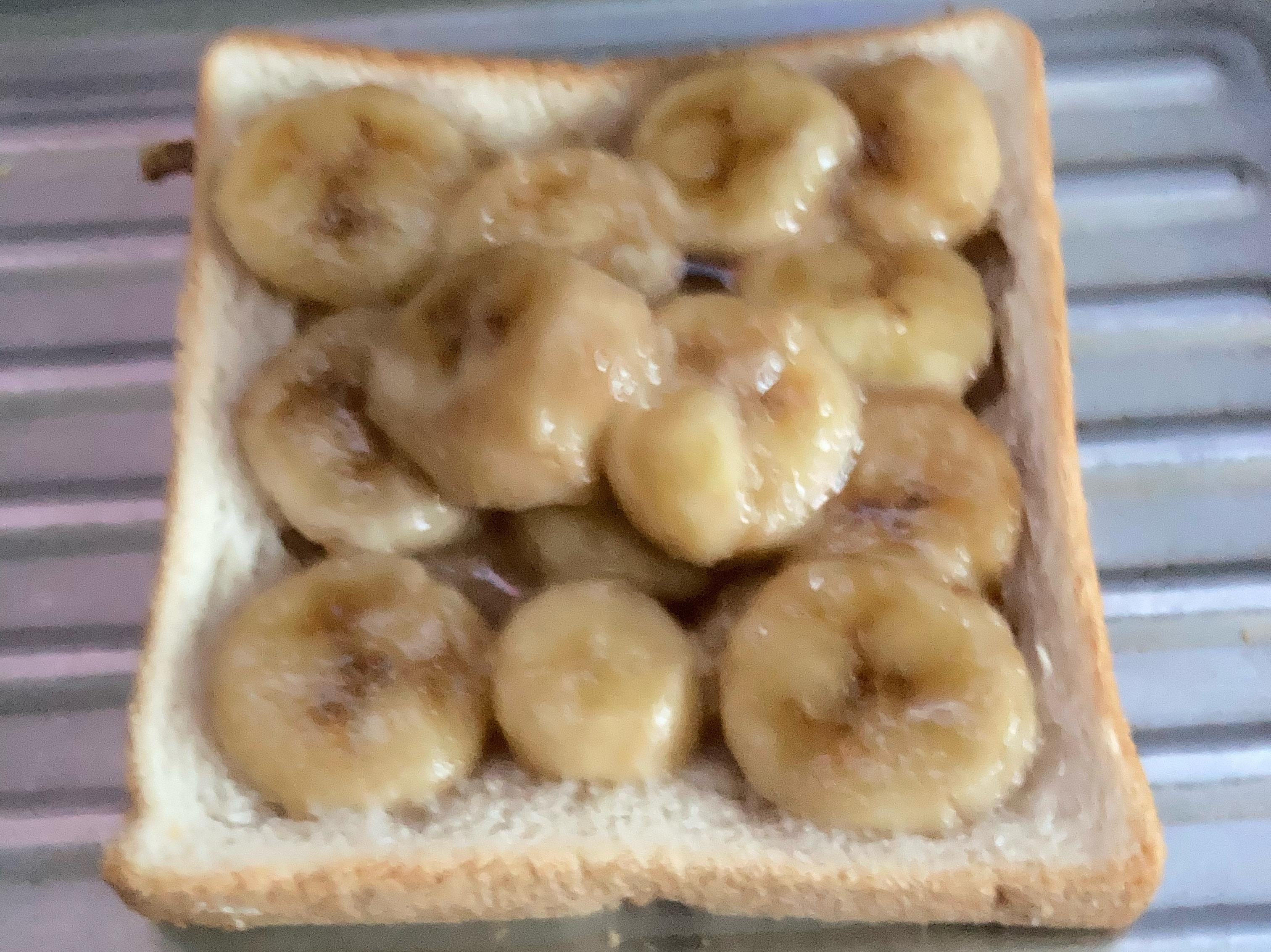 香蕉吐司(超簡易)