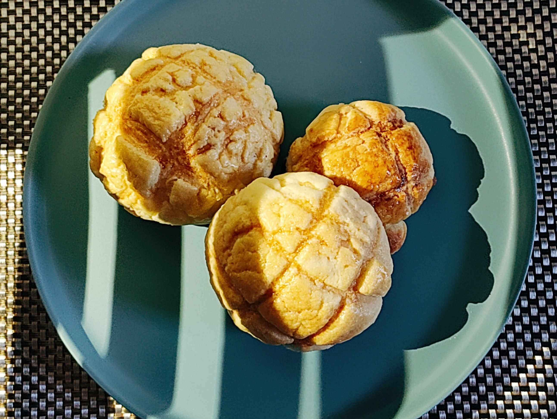 菠蘿麵包無奶粉版