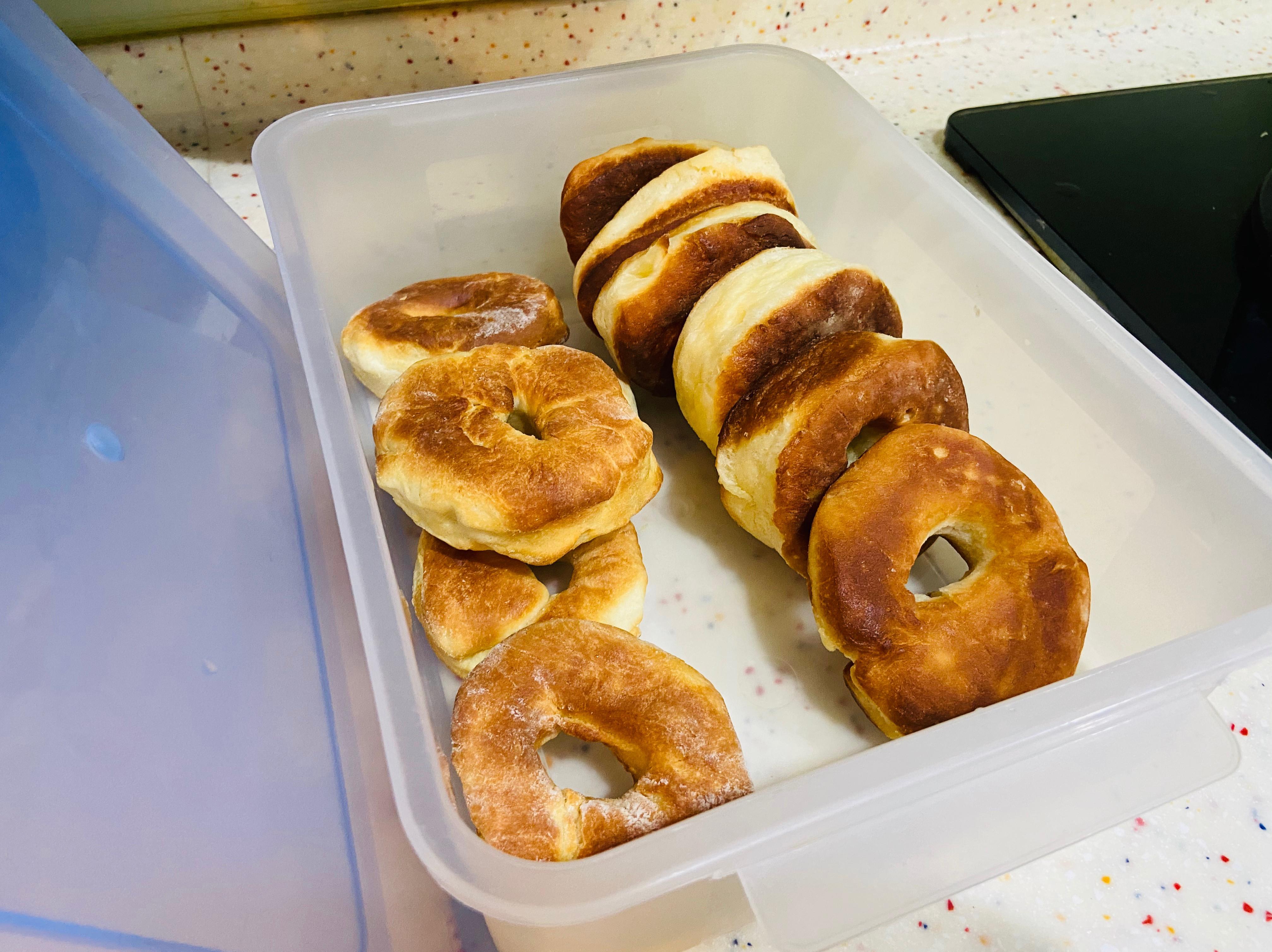 麵包機甜甜圈(氣炸,油炸)